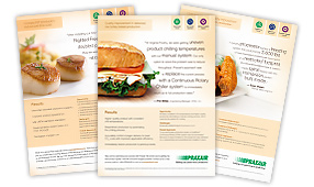 collection of food ads