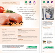Studio shot sliced turkey produced from post CRC use