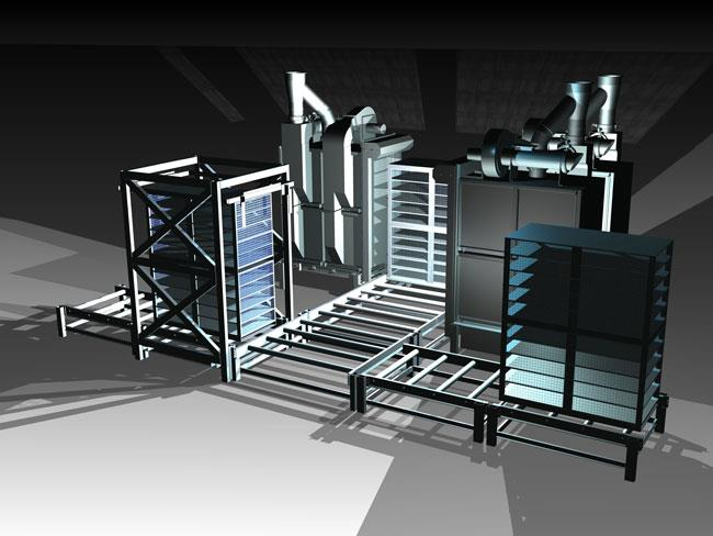 Multi Cage Broiler System
