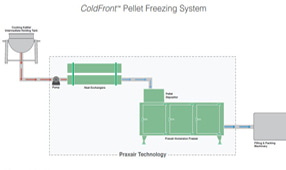 Pellet and Dot Freezing Diagram